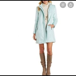 Charlotte Russe Mint Green Wool Blend Coat